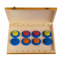 Speciális feeder fa előketartó doboz